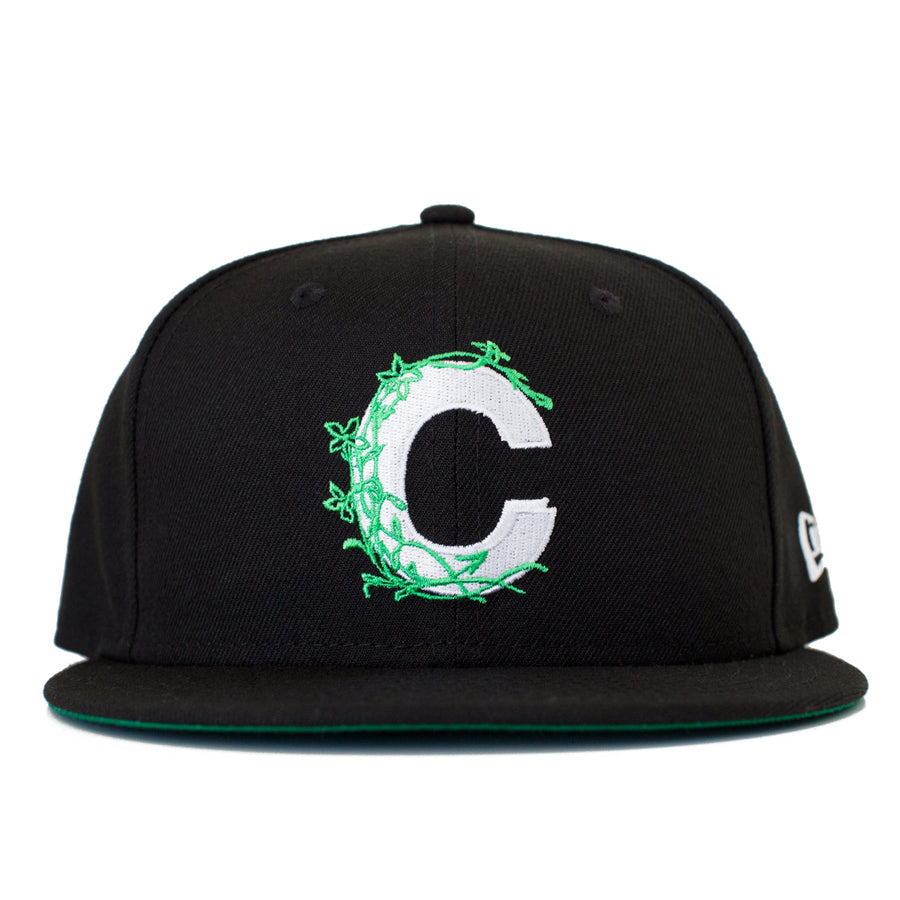Vine Logo New Era Fitted - Black