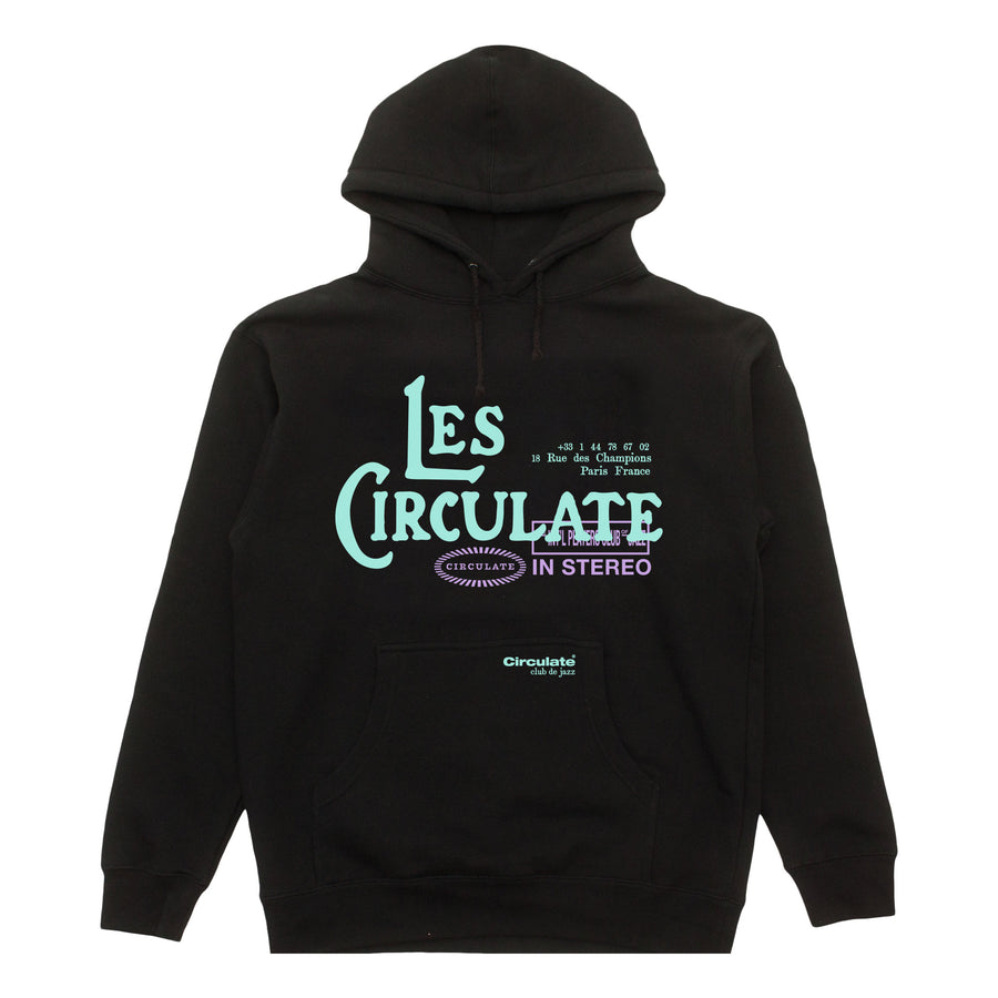 Late Night Hoodie - Circulate Worldwide