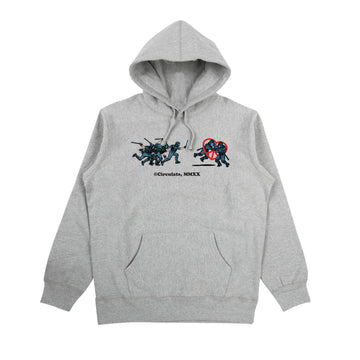 No Justice Hoodie - Heather