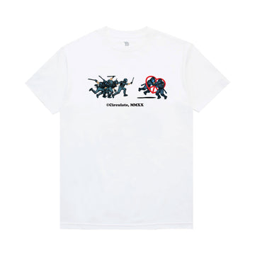 No Justice T-Shirt - White