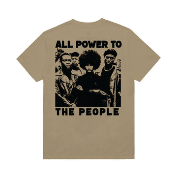 Power T-Shirt - Sand