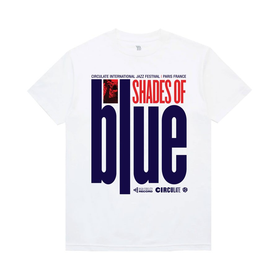 Shades Of Blue T-Shirt - Circulate Worldwide
