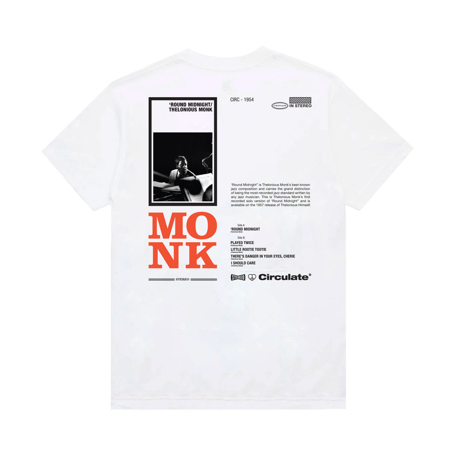 Round Midnight T-Shirt - White