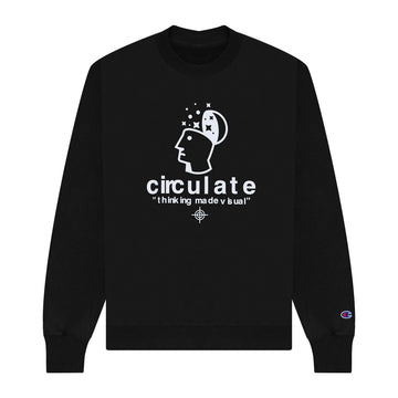Thinking Made Visual Crewneck - Black