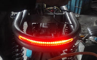 Modified Universal Seat Frame Hoop with LED Brake, Turn Signal, And Tail Light