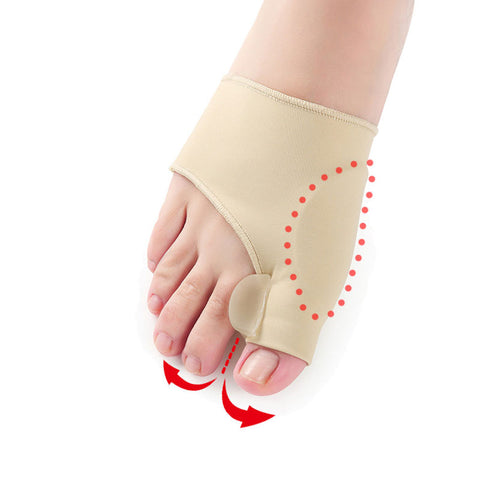 Big Toe Hallux Valgus Corrector; Orthotics Feet Care; Bunion Straightener with gel for the Toe