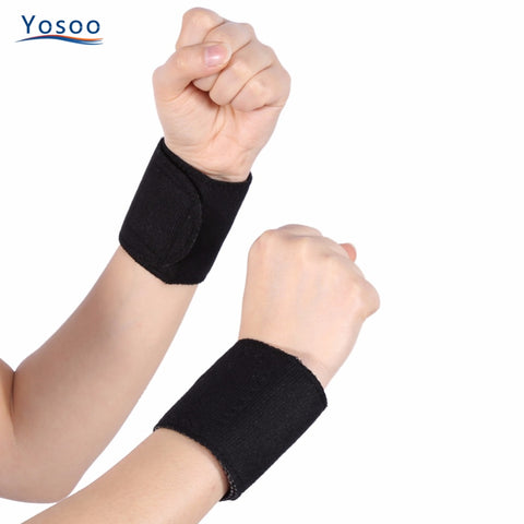 Tourmaline Self-heating Wrist Brace  Magnetic Therapy