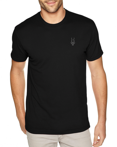 Men's Brand Addax Black T-Shirt