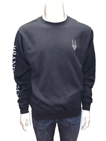 Brand Addax Black Crew Neck Sweater
