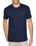Men's Brand Addax Navy T-Shirt
