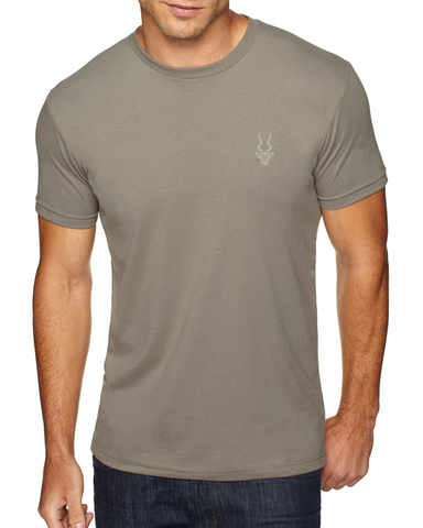 Men's Brand Addax Warm Gray T-Shirt