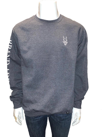 Brand Addax Grey Crew Neck Sweater