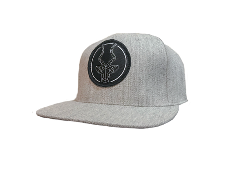 Heather Grey Brand Addax Snap Back