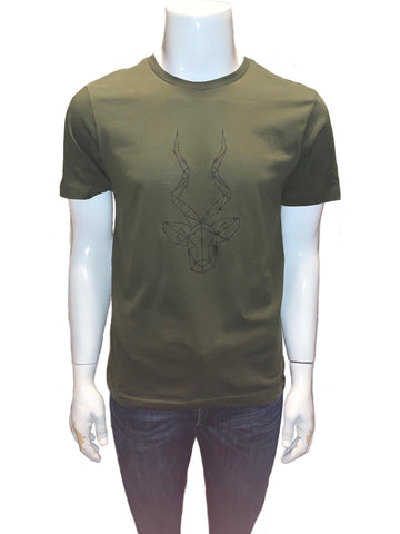 Men's Brand Addax Moss Green T-Shirt
