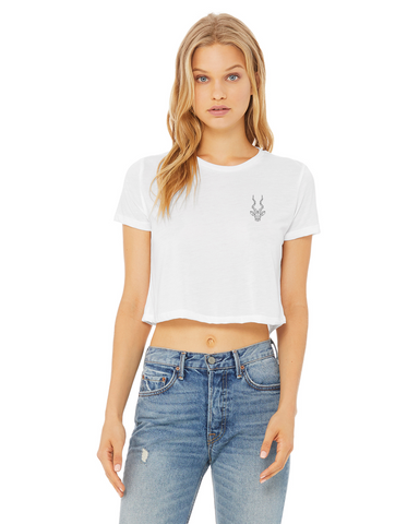 Women's Brand Addax Cropped T-Shirt