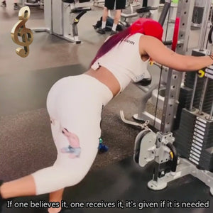 LiL.Precious VIRAL Woman Power Leggings Glute Workout VIDEO