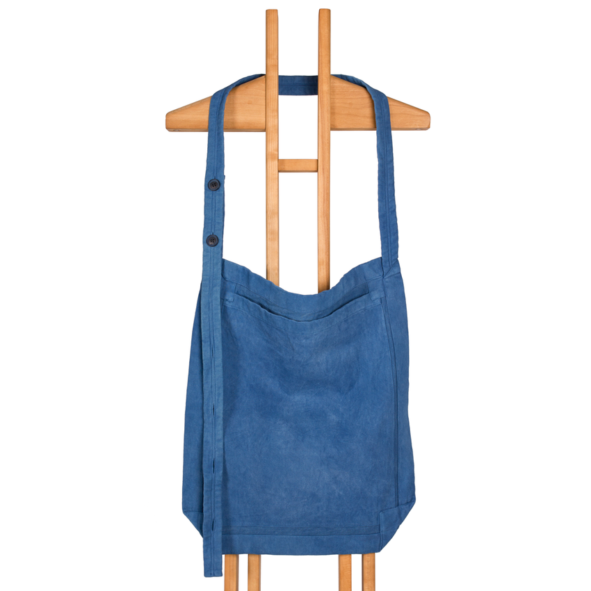 Adjustable Bag (Hand-Dyed Indigo)