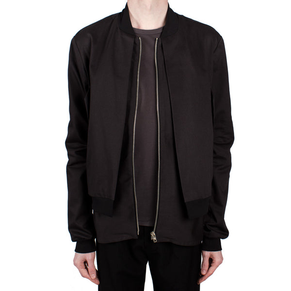 Double-Layered Bomber Jacket