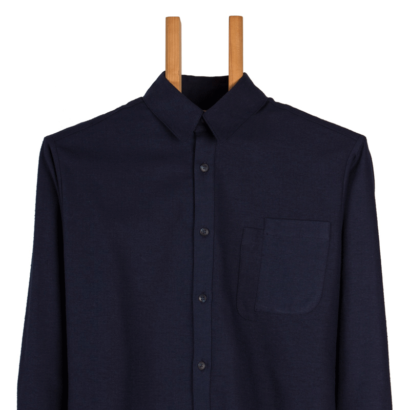 Shifted Button-Down Shirt