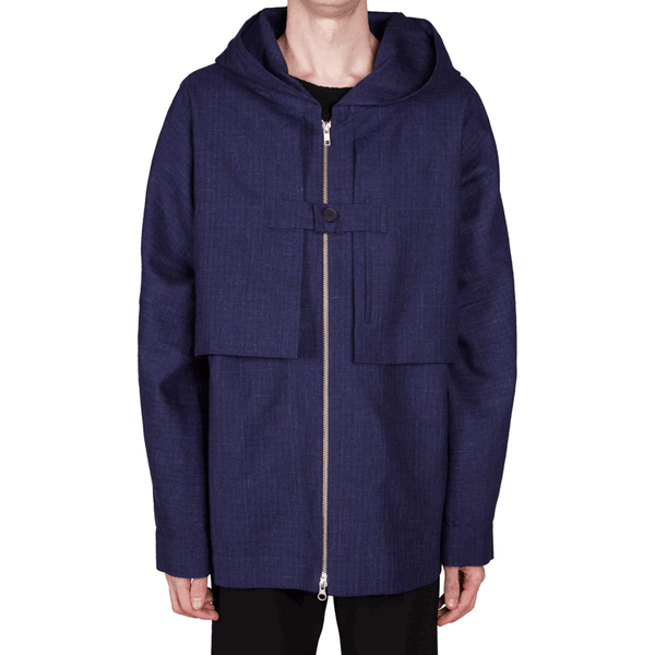 Hooded Zipper Jacket