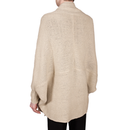 Knit Cape-Cardigan (Natural)