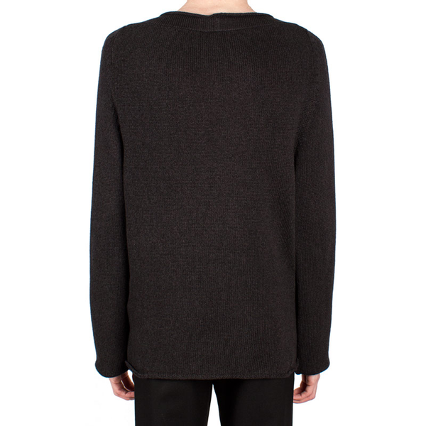 Crew-Neck Knit Pullover