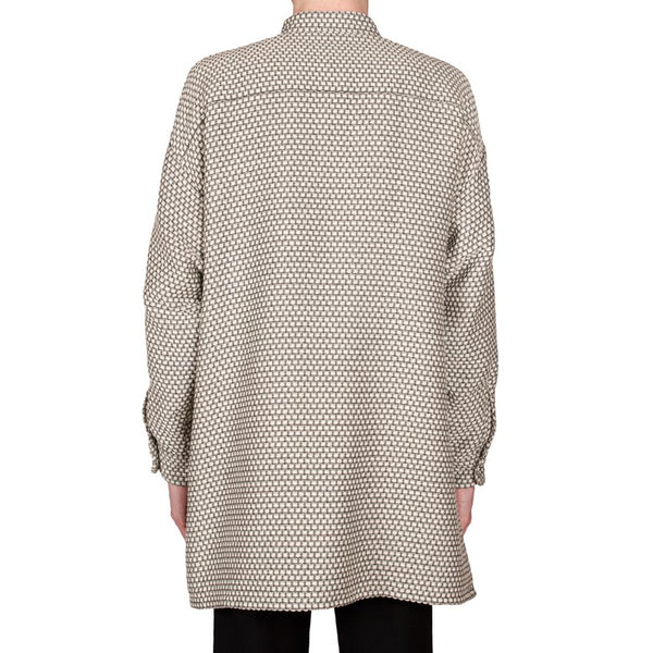 Basket-Weave Tunic-Shirt