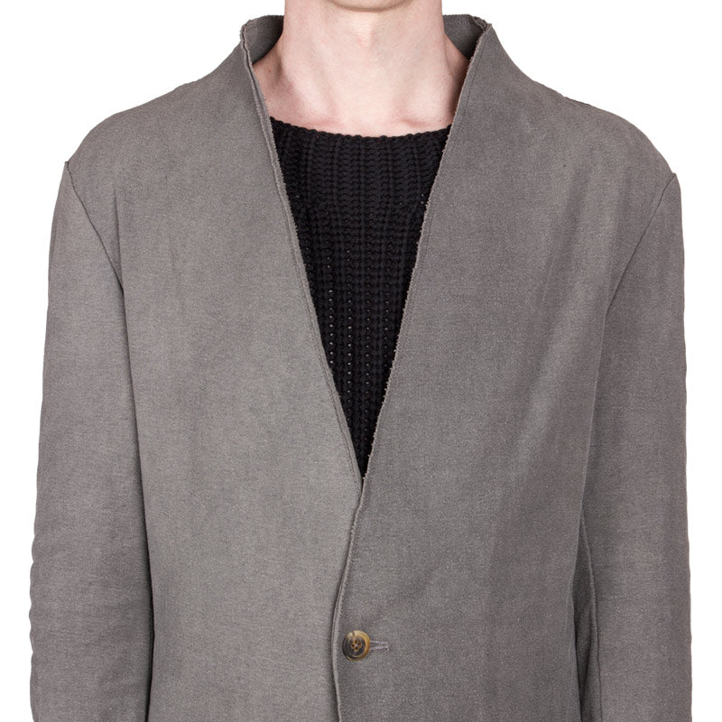 Raw Edged Cardigan Jacket