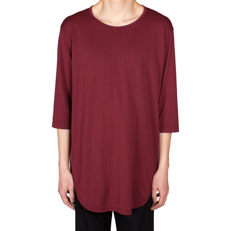 Half-Sleeve Crewneck Top