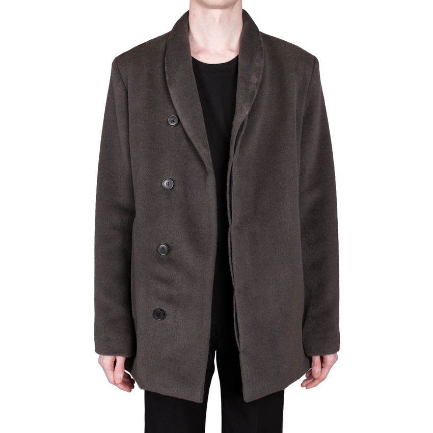 Alpaca-Wool Coat by Stephan Schneider