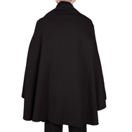 Sweaterponcho (Black)