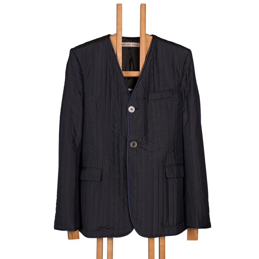 V-Neck Blazer-Jacket