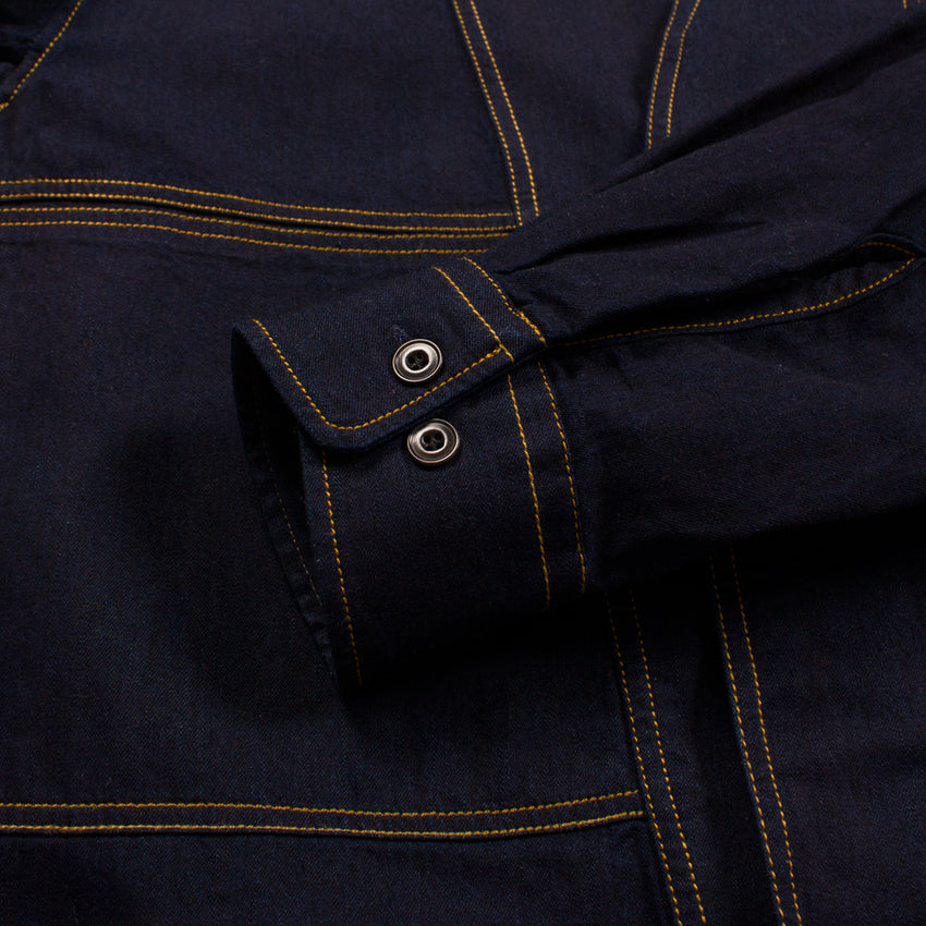 Chambray Shirt-Jacket by Lemaire