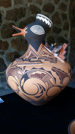 Traditional Zuni Pottery by Gaylon Westika