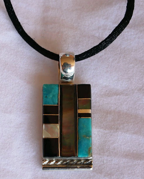 Pam Lasiloo Inlay Necklace