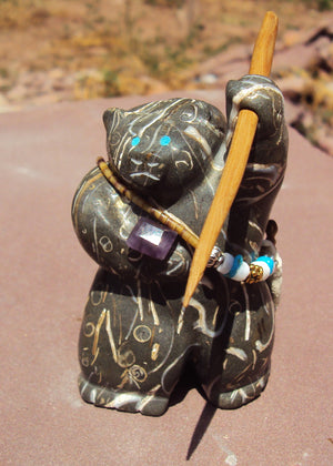 Chris Gchachu Fossilized Shell Bear