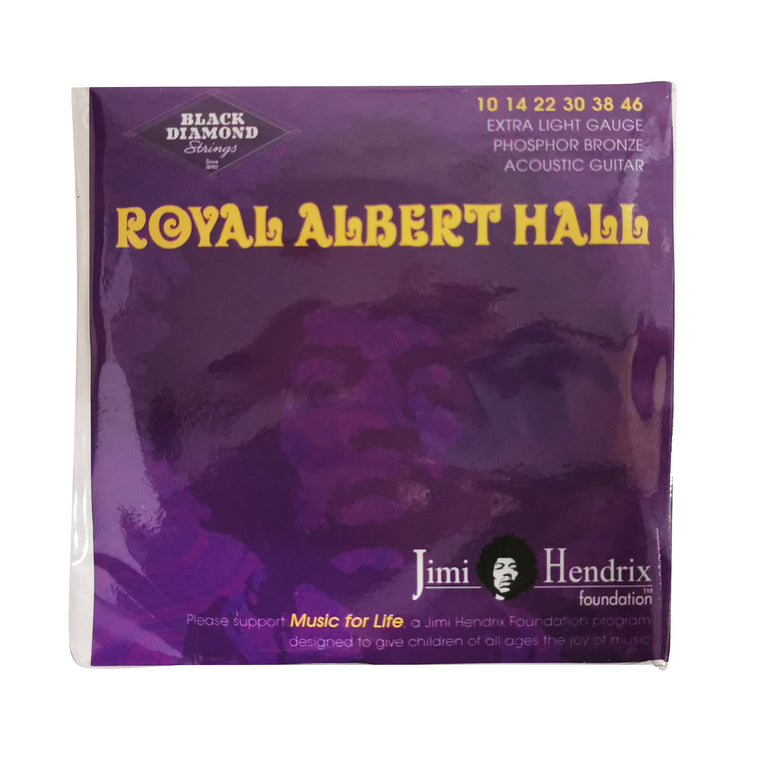 Black Diamond - Jimi Hendrix Acoustic Strings - 10-46