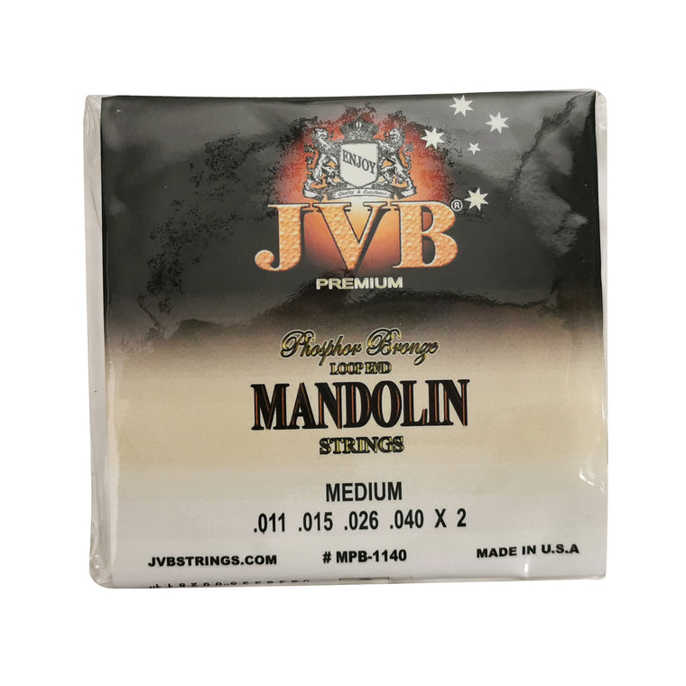JVB Phosphor Bronze Mandolin Strings 11 - 40