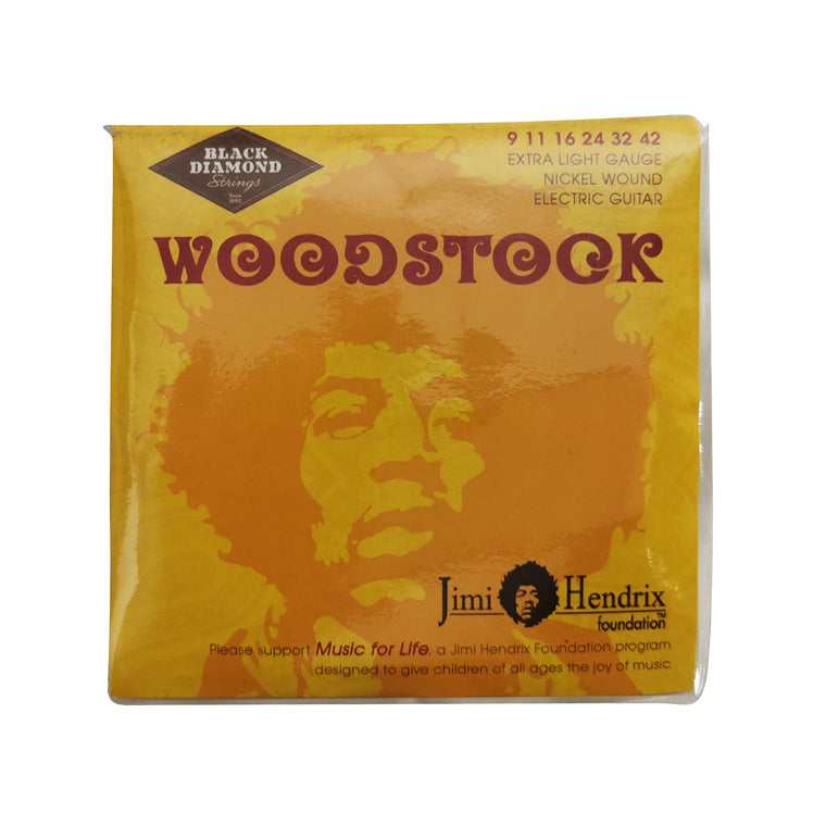 Black Diamond - Jimi Hendrix Electric Strings - 9 - 42