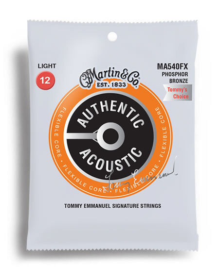 Martin FX 012-054 Phosphor Bronze (Tommy Emmanuel Signature Strings)