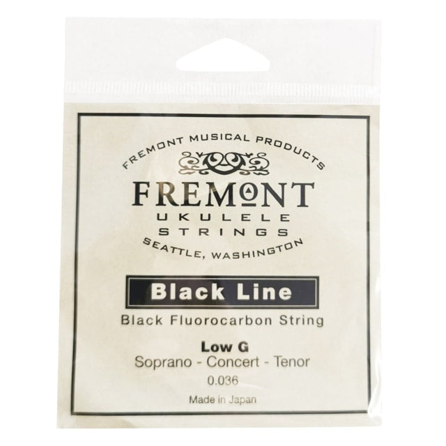 Fremont Low G String for Soprano, Concert or Tenor Ukulele