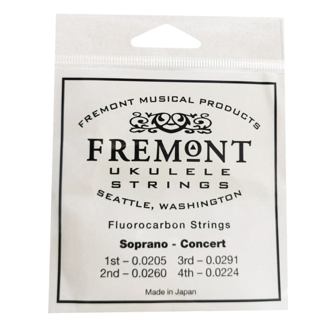 Fremont Clear Fluorocarbon Strings for Soprano/Concert