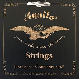 Aquila Carbon Black High-G Tenor Ukulele String Set