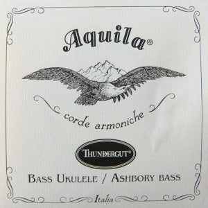 Aquila Thundergut 4-String Bass Uke String Set