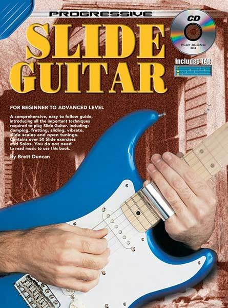 Progressive Slide Guitar Technique Book/CD