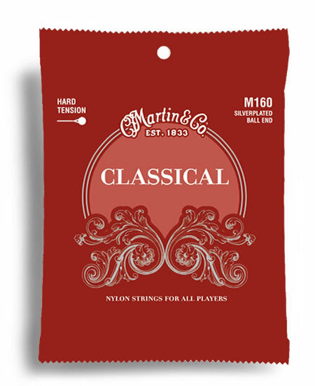 Martin Classical Nylon/Silver Ball End String Set (28-43)