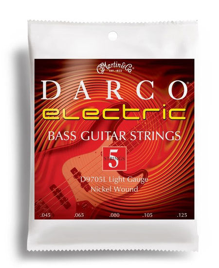 Darco Electric Bass 5-String Light Gauge String Set (45-125)