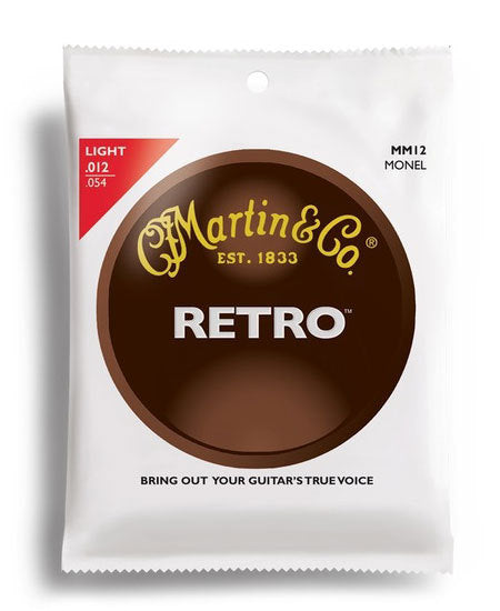 Martin Retro Light Guitar String Set (12-54)