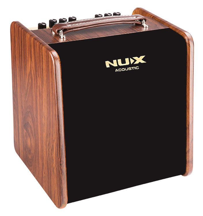 NU-X AC50 Stageman 2-Channel, 50W Acoustic Guitar Amplifier with Digital FXBuilt-in Jam Functionionality