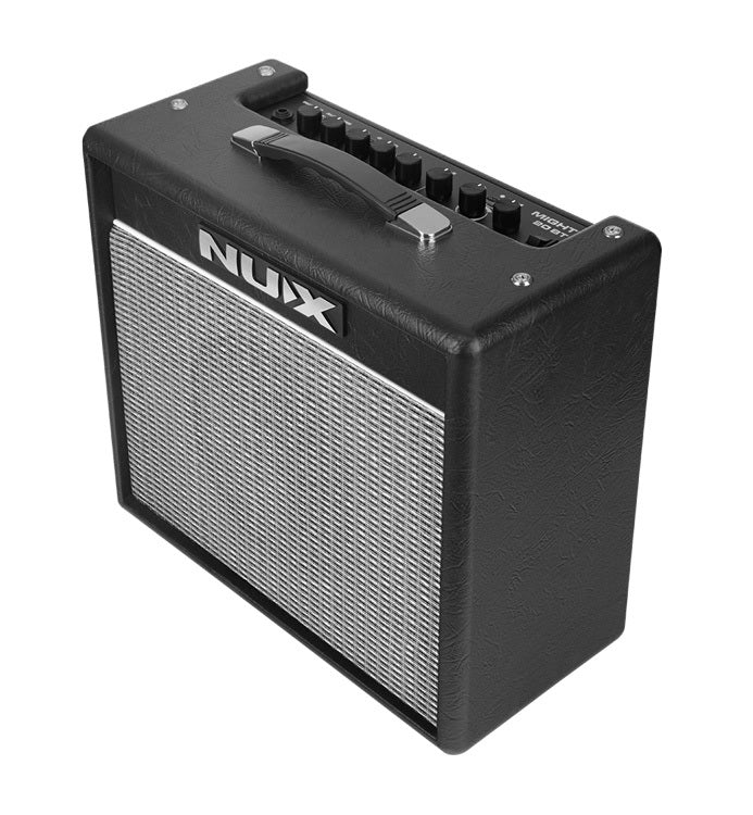 NU-X MIGHTY20BT Digital 20W Guitar Amplifier with Bluetooth & Effects4 Channels (Clean, Overdrive, Metal & Lead)